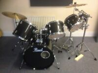 7 piece pearl export drum kit