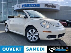 2008 VOLKSWAGEN NEW BEETLE CABRIO 2.5 2.5 AUTO MAGS AIR CRUISE