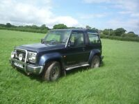 Daihatsu Fourtrak 2.8 Independant TDX