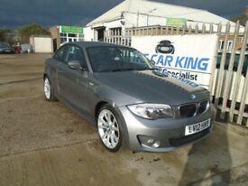 BMW 1 SERIES 2.0 118d Sport 2dr (grey) 2012