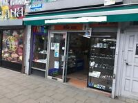3 to 5 meter unit available to let in a busy high road shop unit to rent barber or nail etc