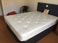 Nearly new Dreams double bed and mattress