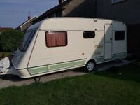 Fleetwood crystal 165-5 5 berth caravan