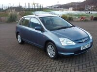 Honda Civic 1.6 SE Executive Only 63000 Miles Full Honda Service History One Prev Lady Owner New MOT