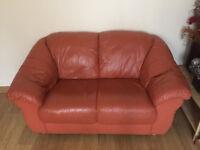 Leather Sofa – 3 piece suite