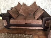 2 2seater sofas 3months old