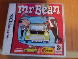 Mr Bean Nintendo DS game