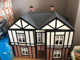Craftsman made dolls house