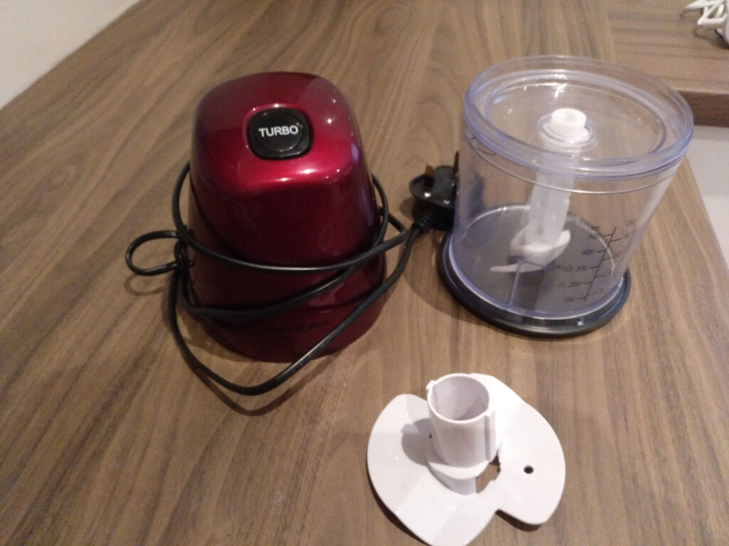 Silvercrest red small food processor
