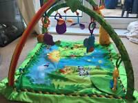Fisher price rainforest activity play mat