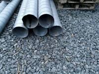 Galvanised steel ducting