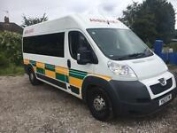 Peugeot Boxer 435 2.2 Hdi 130 L3 H2 2013 Ambulance Spec (PTS) mpv Welfare bus *Citroen Relay Ducato
