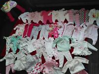 BABY GIRLS CLOTHES SHOES & COATS from Next Ted Baker United colours Benetton (all immaculate)