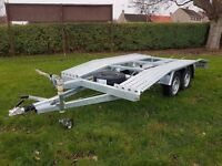 BRAND NEW Car Transporter Trailer Recovery Flat bed 2700kg GVW 4.0 m long