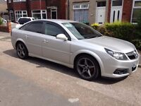 2008 58 VAUXHALL VECTRA SRI 6 speed CDTI 150 CR-TECH2 REMAP, SILVER WITH 18inch ALLOY WHEELS