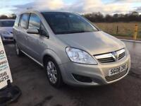 BARGAIN! Vauxhall zafira, 7 seater, full years MOT awaiting preparation