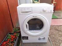 hotpoint condenser dryer 7.5 kg load like new