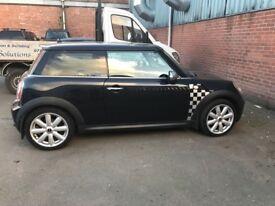 Mini Cooper, Black, 1.6 Petrol, Manual, Hatchback