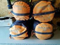 4 sleeping bags