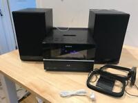 Sony stereo CD/radio/iPod dock
