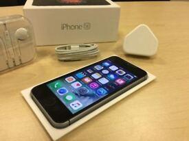 Space Grey Apple iPhone SE 16GB Mobile Phone On Vodafone / Lebara / Talk Talk+ Warranty