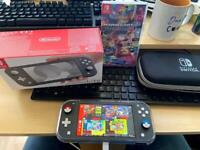 Nintendo Switch lite + Extras
