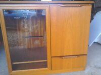 Sakol Solid Wood Hi Fi Storage Unit.
