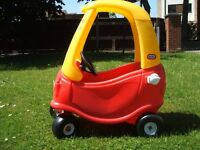 Ride in car. Little Tikes