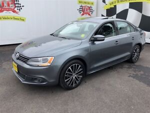2013 Volkswagen Jetta Highline, Manual, Navi, Sunroof, Diesel