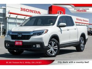 2018 Honda Ridgeline EX-L | Automatic | Sunroof, Heated Front Se