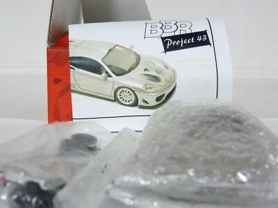 BBR PJ387 1/43 2004 Ferrari 360 Target Design Handmade Resin Model Car Kit