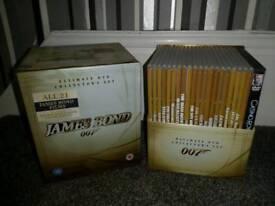 James bond 21 mivie dvd bix set
