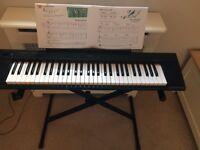 Yamaha Piaggero NP-11 Keyboard and stand