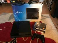 PS4 500GB Boxed with 5 games