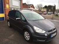 2008 Ford smax 2.0 tdci automatic 7 seater 12 months mot/3 months parts and labour warranty