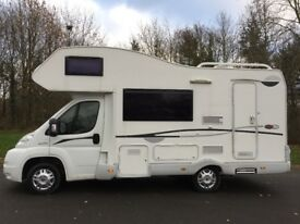 CI Carioca 625 motorhome, 2009, Excellent condition, Solar, Tow bar