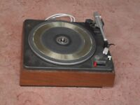 Garrard Deccadec Record Deck. (De-Luxe version of Garrard SP25 with Decca Deram Arm and Cartridge.)
