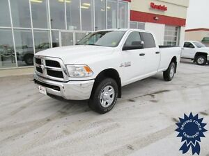 2016 Ram 3500HD SLT Crew Cab 4X4 Diesel Long Box 8' w/19,146 Kms