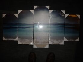 Limited Edition 5 Section Ocean Canvas