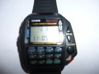 CASIO CMD-40 Remote Control Digital Watch New Strap and battery
