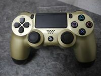 Sony PS4 Dual Shock Gold Controller