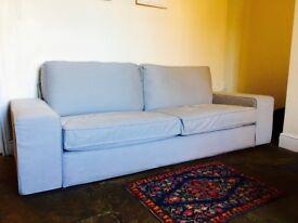 Three Seater Sofa, Ikea KIVIK - 6 months old