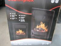 Dimplex optiflame, log effect 2kw heater.