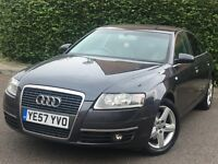 Audi A6 2.0 Tdi manual leathers sat nav saloon