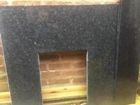 Fireplace back and hearth