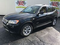 2011 BMW X3 28i, Automatic, Navigation, Leather, Sunroof, AWD