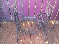 Antique Singer sewing machine stand