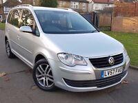 Volkswagen Touran 1.4 TSI SE MPV DSG 5dr (7 Seats), FSH, Superb Condition, Warranty