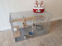 Large chinchilla / Degu cage
