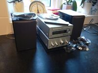 Hitachi hifi unit with mp3,usb,ipod docking, dab radio,cd,tuner aux,with remote control and booklet
